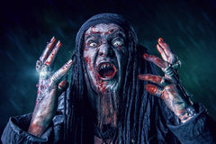 Frightening hell royalty free stock images