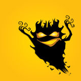 Frightening monster. nightmares concept Stock Image