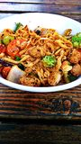 Frigideira chinesa picante da galinha Fotografia de Stock Royalty Free