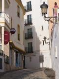 Frigiliana è un vecchio villaggio di moresco sopra Nerja su Costa del Sol in Spagna del sud Fotografia Stock Libera da Diritti