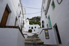 Frigiliana. In Andalusia from Spain Royalty Free Stock Photos