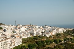 Frigiliana old town Royalty Free Stock Images