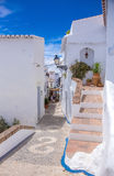 Frigiliana pavement Royalty Free Stock Images