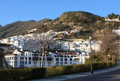 frigiliana spain by Royaltyfria Bilder