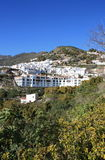 frigiliana spain Royaltyfria Bilder