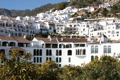 frigiliana spain town Royaltyfri Bild