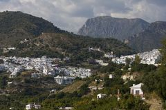 Frigiliana view. In Andalusia, Spain Royalty Free Stock Photography