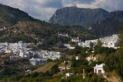 Frigiliana view (Andalusia, Spain) Royalty Free Stock Photography