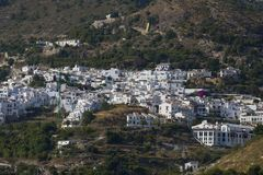 Frigiliana view (Andalusia, Spain) Stock Photos