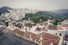 Frigiliana village. Andalusia, Spain Stock Images