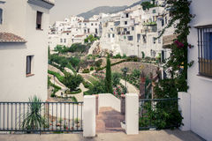 Frigiliana village. Andalusia, Spain Royalty Free Stock Images