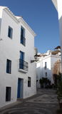 Frigiliana Village Buildings ( Spain ) stock image