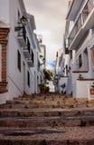 Frigiliana Village in Malaga. Spain Royalty Free Stock Photography