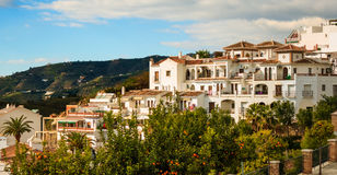 Frigiliana Village in Malaga. Spain Stock Images