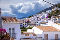 Frigiliana village Stock Images