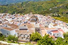 Frigiliana w Andalusia, Hiszpania Zdjęcia Royalty Free