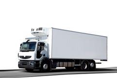 frigo卡车白色 图库摄影