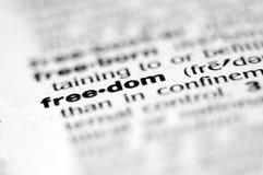 frihet Arkivbild