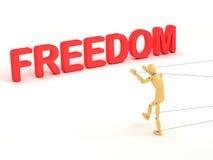 frihet vektor illustrationer