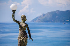 Frihet av Agios Gordios arkivbilder