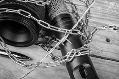 Frihet av press Arkivbild