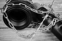 Frihet av press Arkivfoto