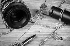 Frihet av press Fotografering för Bildbyråer