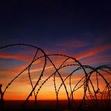 Frihet av solnedgångar arkivfoto