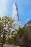 Frihet Towe, Manhattan, NEW YORK, USA Arkivfoton