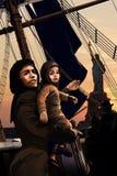 Frihetfartyg royaltyfri illustrationer