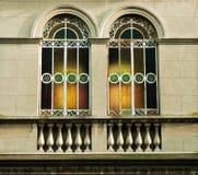 frihetreflexioner style fönstret Royaltyfri Foto