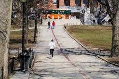 Frihetsslinga på gemensamma Boston Arkivfoton