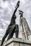 Frihetstaty i Budapest, Ungern Arkivfoton