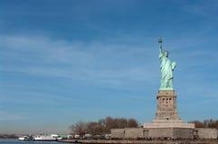 Frihetstaty i New York Royaltyfria Bilder