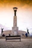 Frihetstaty på den Gellert kullen i Budapest, Ungern Royaltyfria Bilder