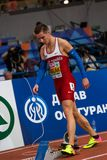 Friidrott - man 400m, MASLAK Pavel Royaltyfri Foto
