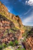Frijoles Canyon, Bandelier National Park Stock Photos