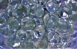 Frikändmarmor som liknar bubblor Arkivfoto