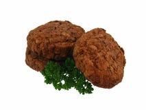 Frikadella Sausage with Parsley Stock Image