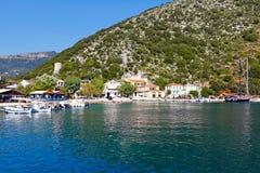 Frikes in Ithaki island, Greece Royalty Free Stock Photo