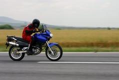 friktionsmotorbike Royaltyfria Bilder