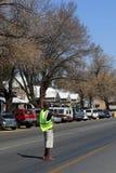 Frilans- parkeringsdeltagare Royaltyfri Foto