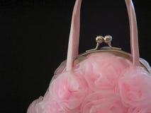 frilly розовое портмоне Стоковое Изображение RF
