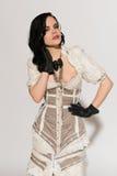 Frilly suknia obraz stock