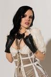 Frilly suknia zdjęcia stock