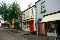 Frilufts- folk by, Bunratty, Irland Royaltyfri Bild