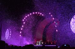 Frilufts- operaartad konsertfinal Royaltyfria Foton