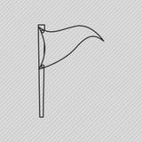 friluftsdagsymbolsdesign stock illustrationer