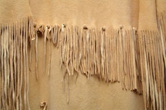 Fringe. Details of a Native American Regalia (dress stock images