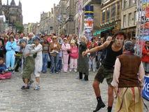 Fringe festival Stock Image